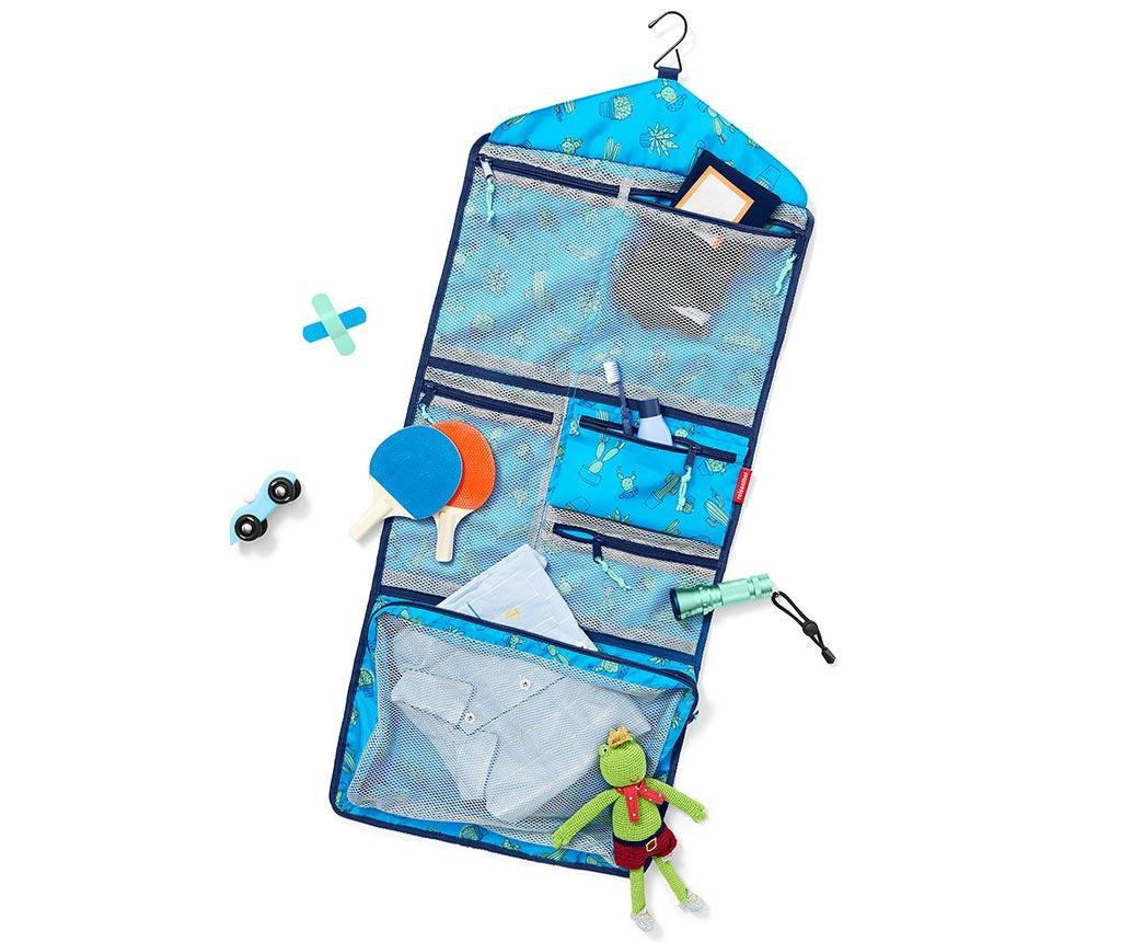 Organizator pentru accesorii copii Cactus Blue
