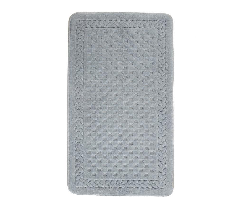 Lace Grey Fürdőszobai szőnyeg 70x120 cm