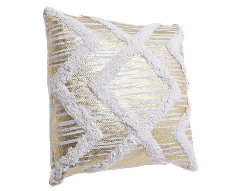 Декоративна възглавница Helen Cream Gold 45x45 см