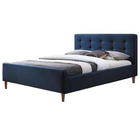 Postelja Bevan Blue 160x200 cm