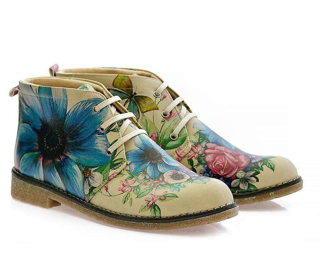 Butterfly and Flowers Női bakancs 41