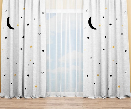 Set 2 draperii Sweet Dreams 140x240 cm