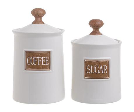 Set 2 doz za kavo in sladkor Israel