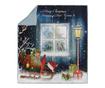 Patura Christmas Through The Window 120x170 cm