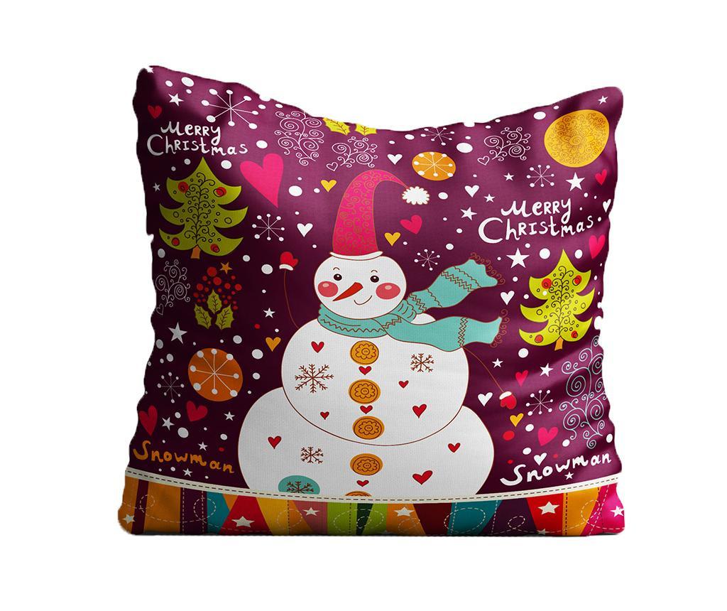 Ukrasni jastuk Friendly Snowman 43x43 cm