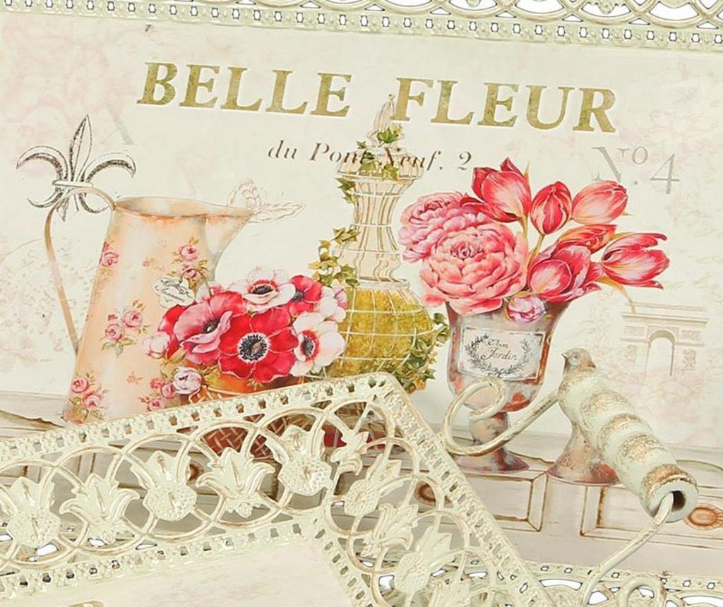 Set 2 tavi pentru servire Belle Fleur