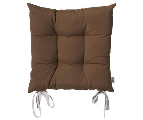 Polštář na sezení Anna Brown 37x37 cm