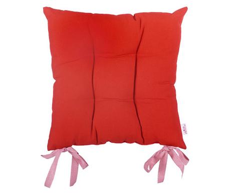 Vankúš na sedenie Anna Red 37x37 cm