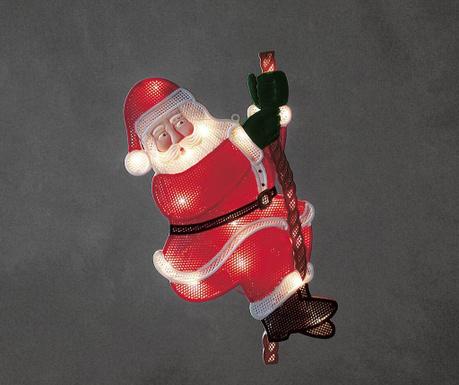 Decoratiune luminoasa Climbing Santa