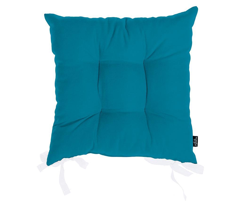 Jastuk za sjedalo Julia Blue 37x37 cm