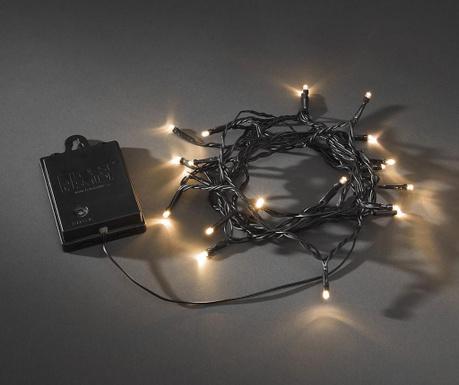 Ghirlanda luminoasa pentru exterior Falami Black 190 cm