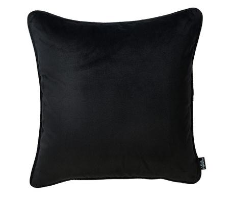 Μαξιλαροθήκη Laverne Black 45x45 cm