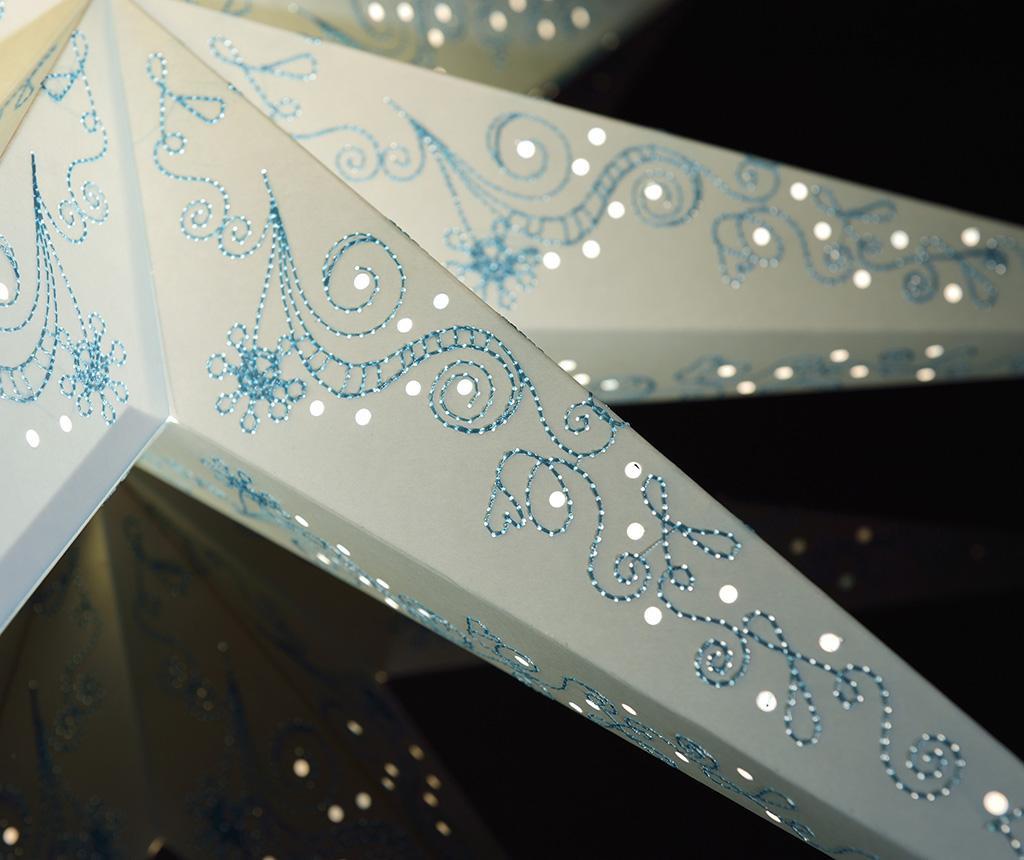 Decoratiune luminoasa suspendabila Blue Stitching