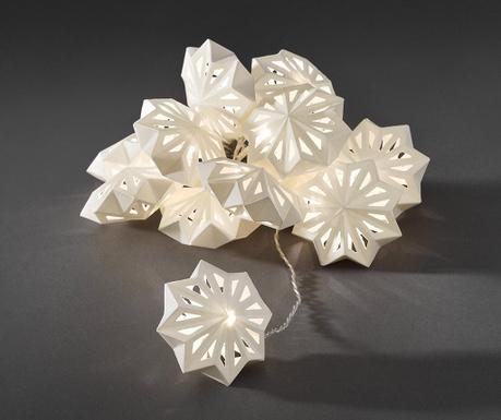Светеща гирлянда Paper Snow Flake 198 см