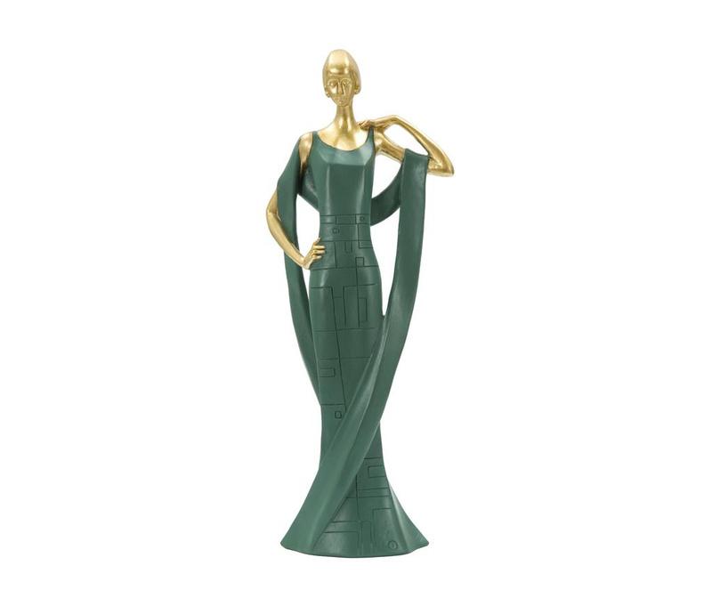 Dekorácia Lady in Green Grande