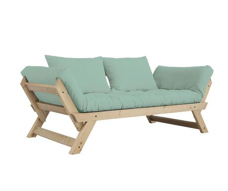 Sofa extensibila Bebop Natural and Peppermint
