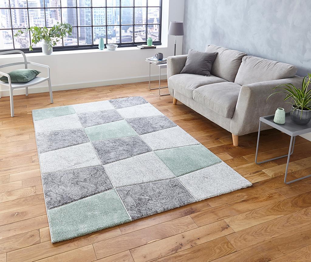 Covor Brooklyn Kia Grey and Green 120x170 cm