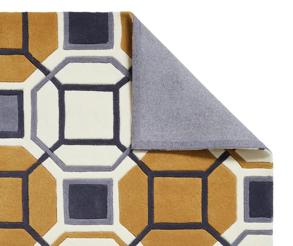 Covor Hong Kong Lissa Ivory and Yellow 150x230 cm