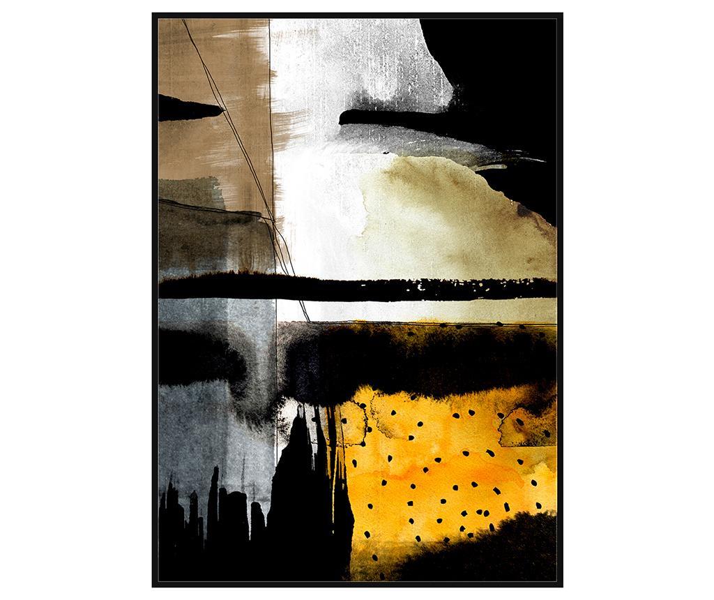 Slika Abstract Dots 100x140 cm