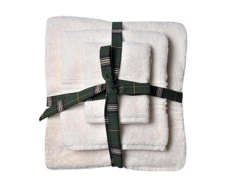 Комплект 3 кърпи за баня Downtown Ivory