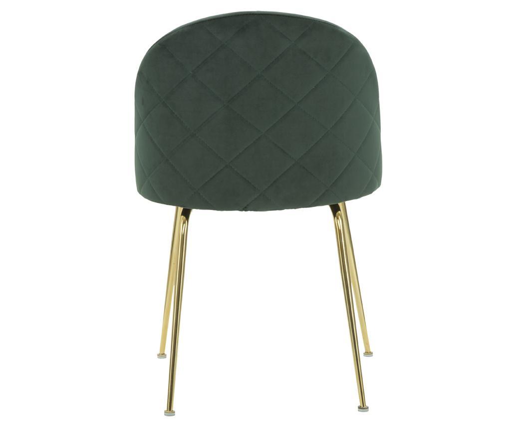 Sada 2 židlí Luxury Green