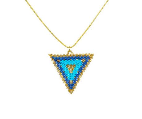 Lančić s privjeskom Aqua Triangle
