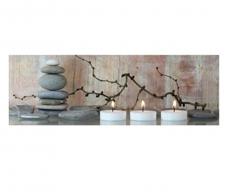 Obraz Candle Light 30x90 cm