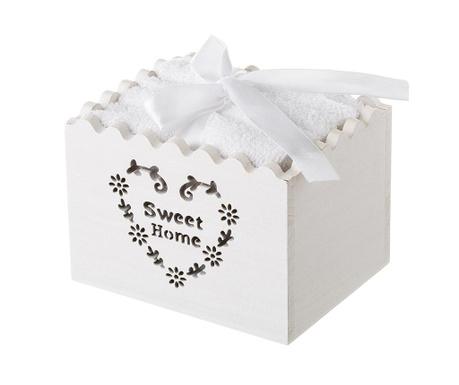 Комплект 4 кърпи за баня и кутия Tane
