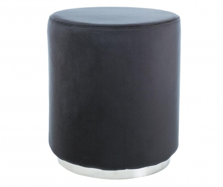 Tabure Turla Black & Silver