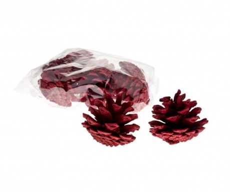 Set 9 decoratiuni Pine Cones