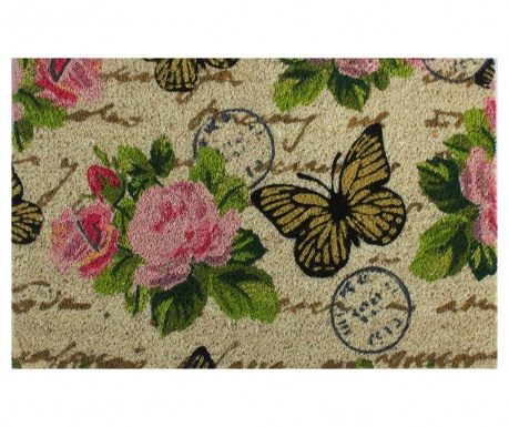 Covoras de intrare Flower Power Butterfly 40x60 cm