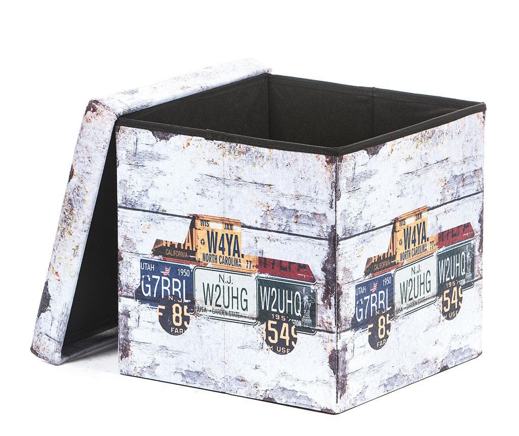 Zložljiv taburet Truck Design