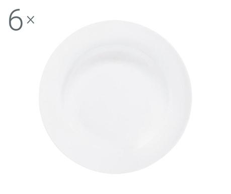 Сервиз 6 дълбоки чинии Federica White