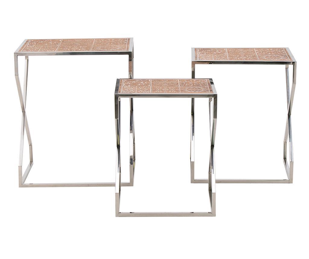 Sada 3 stolíkov Moya