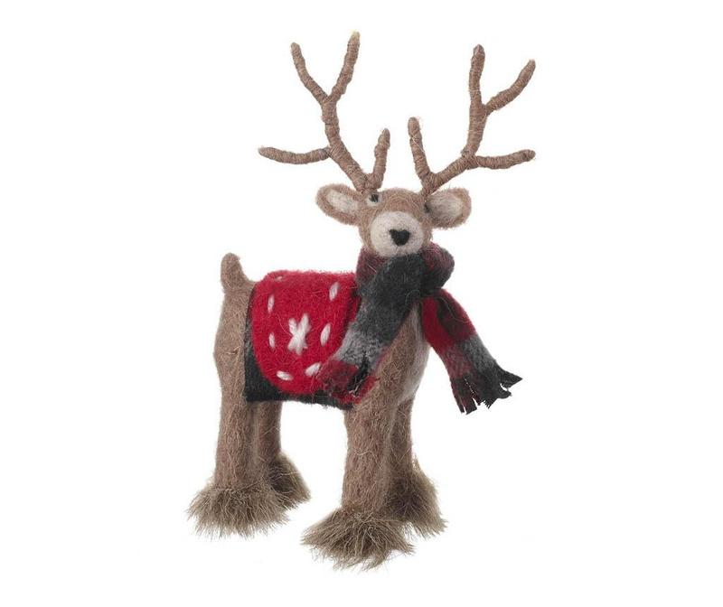 Dekoracija Woollen Reindeer