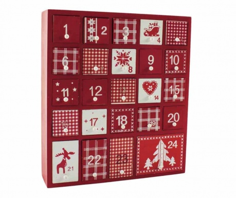 Adventski kalendar Red Christmas