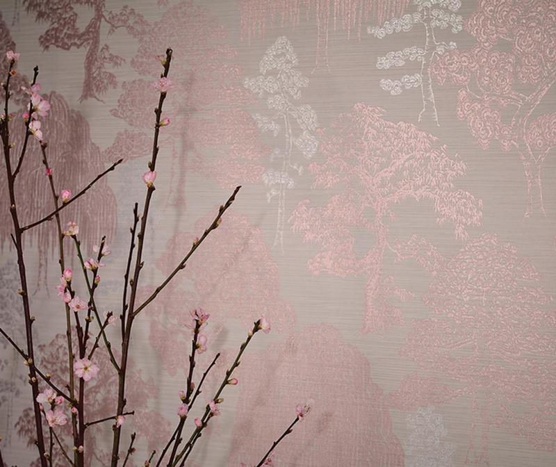 Meili Rose Gold Tapéta 53x1005 cm