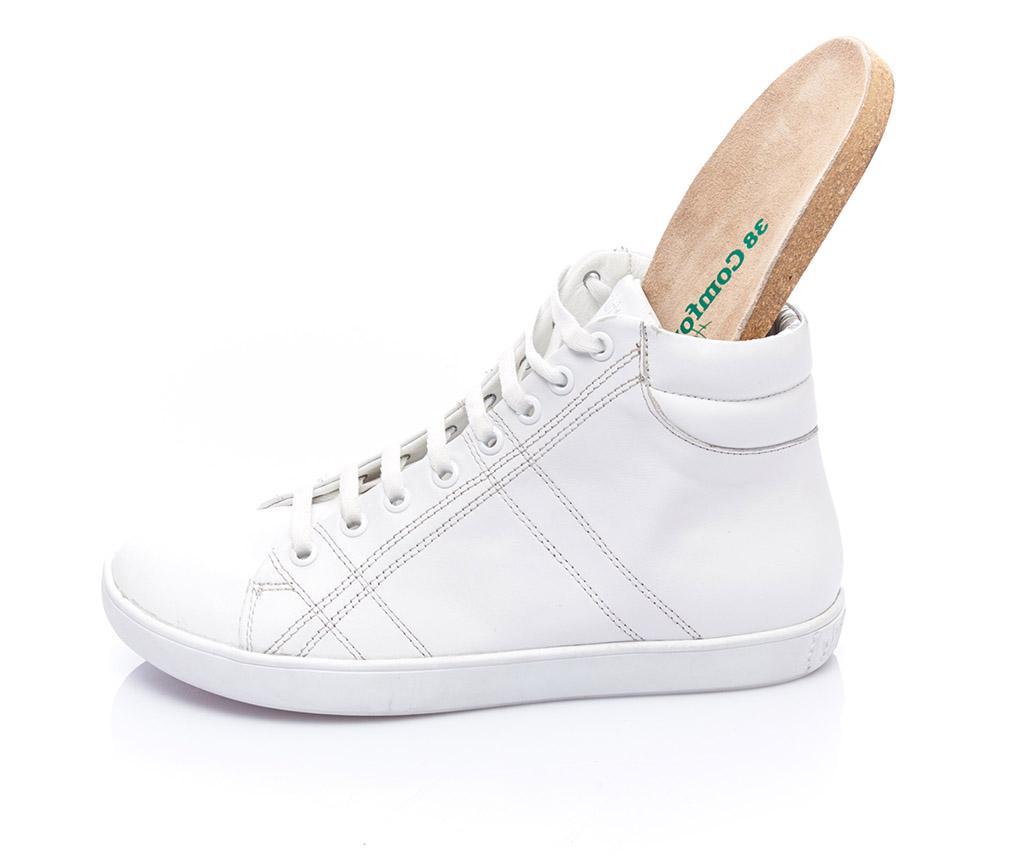 Ava White Női magasszárú tornacipő 38
