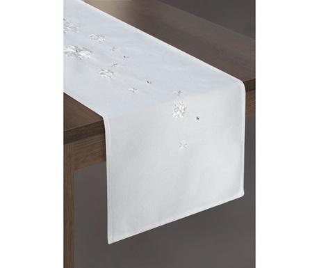 Bieżnik stołowy Rene White 33x140 cm