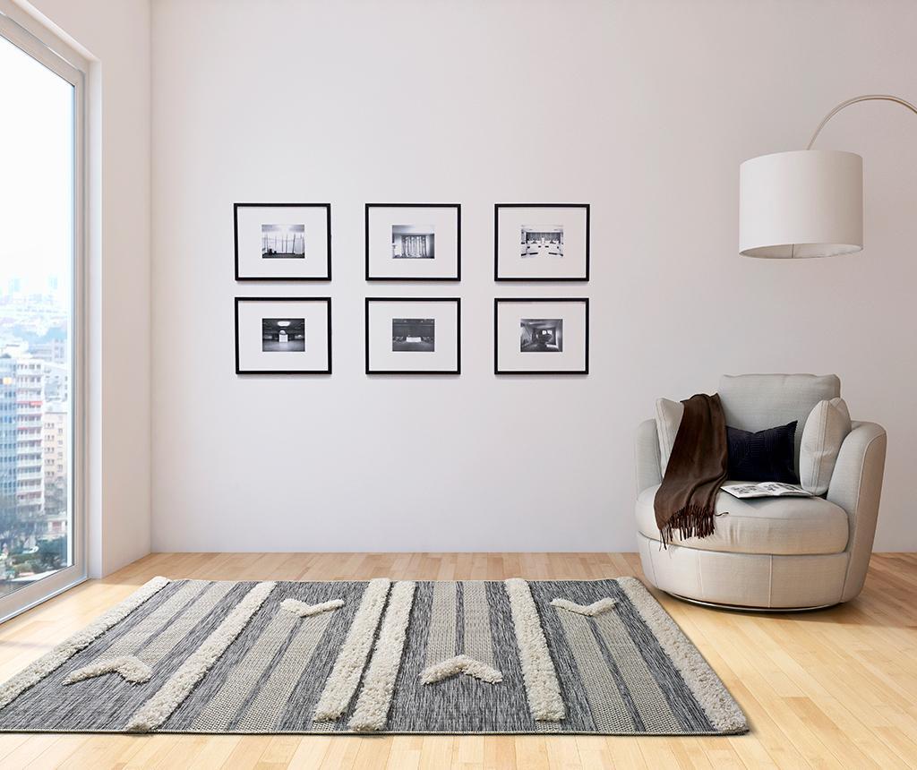 Cheroky White Line Szőnyeg 155x230 cm