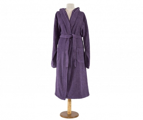 Халат за баня унисекс Alexa Purple