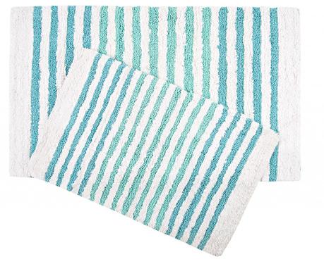 Sada 2 kúpeľňových predložiek Grenada Blue Green
