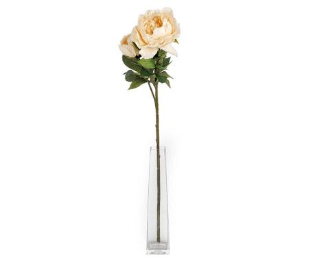 Umelá kvetina Peony Cream