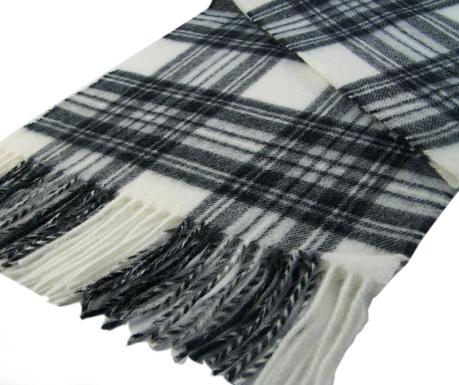 Zimski šal Grey Stewart Slim 25x190 cm