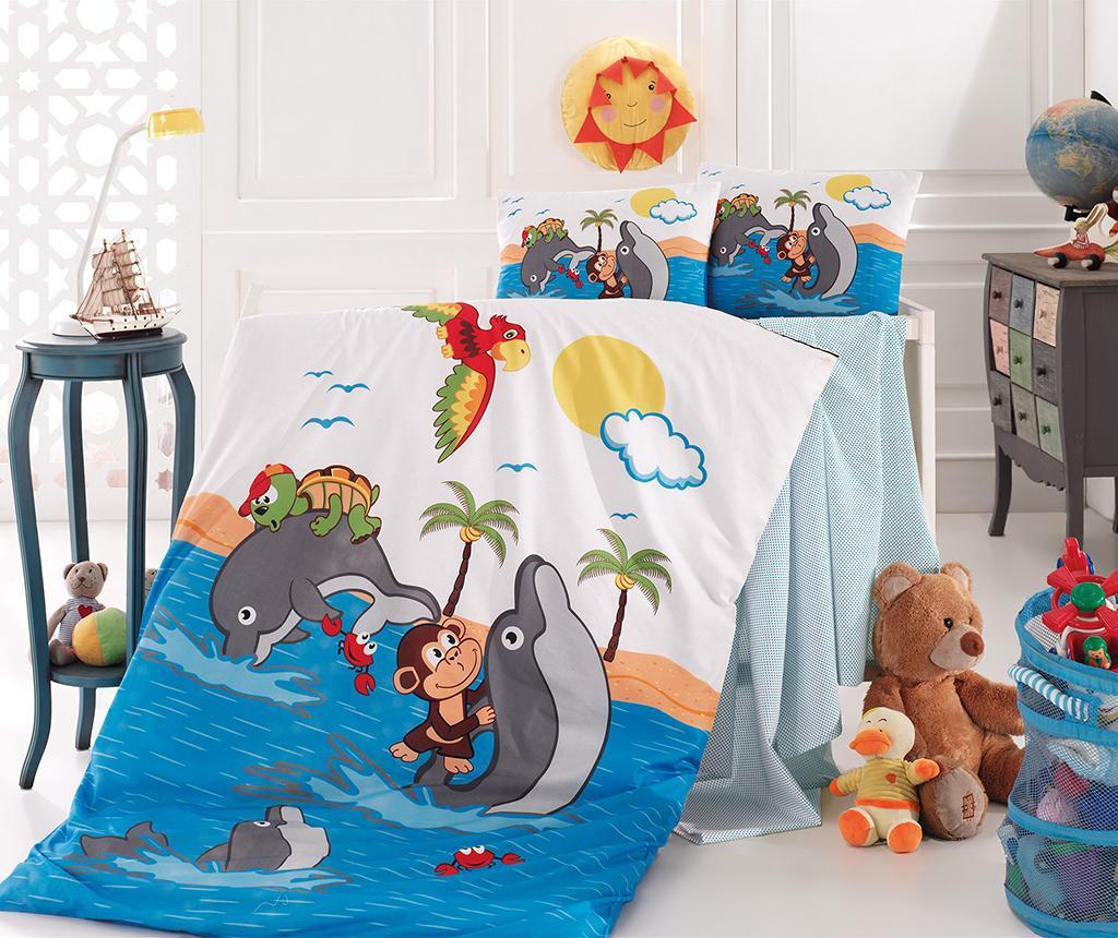 Posteljina za krevetić Ranforce Supreme Dolphin