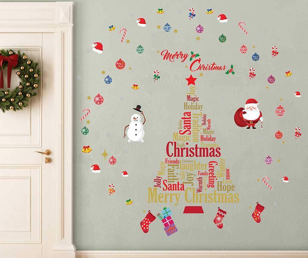 English Christmas Matrica