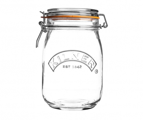Clip Top Befőttesüveg hermetikus fedővel 1 L