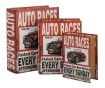 Sada 3 krabic ve tvaru knihy Auto Races