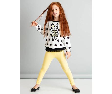 Set bluza si colanti copii Fox 7 ani