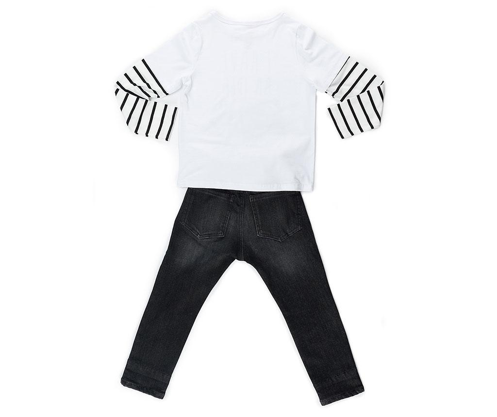 Set bluza si pantaloni copii Have An Idea 7 ani